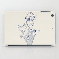 Lost in the sea iPad Case