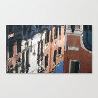 Venetian Reflection Canvas Print