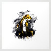 The Cheetah Art Print