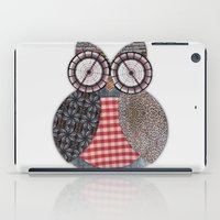 OWL #4 iPad Case