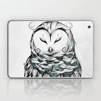 Poetic Snow Owl Laptop & iPad Skin