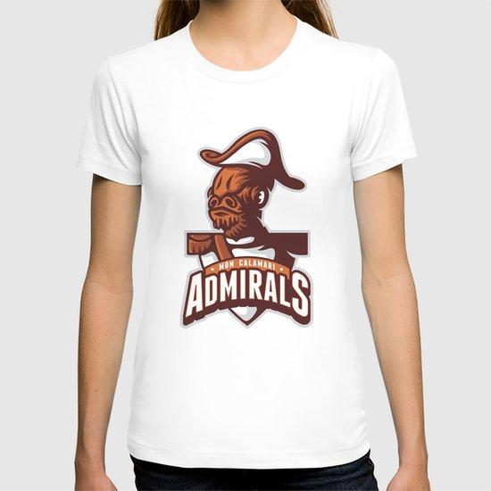 Mon Calamari Admirals T-shirt