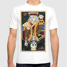 Cho-King. Mens Fitted Tee White SMALL