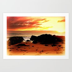 South Coast - Australia Art Print