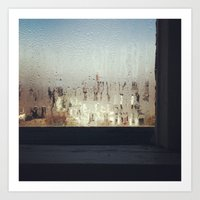 The Window Sill Art Print