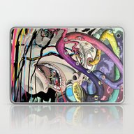Laptop & iPad Skin featuring Total Freak Out by David Comito