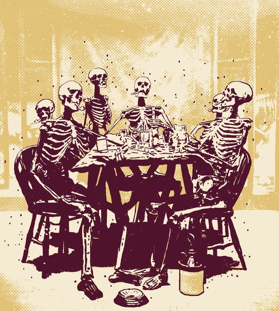 Dead Broke Art Print