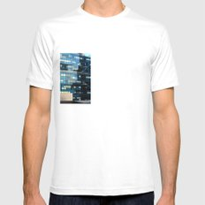 Entertainment or Abuse? Mens Fitted Tee SMALL White