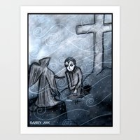 A Cold Season of Mourning Art Print