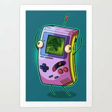 Game Over, Man! Game Over! Art Print