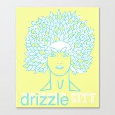 Drizzle City 1 Canvas Print