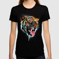 T-shirt featuring FEROCIOUS TIGER by Dzeri29