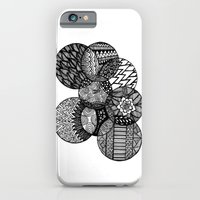 iPhone & iPod Case featuring Sharpie Circles by Kayla Gordon