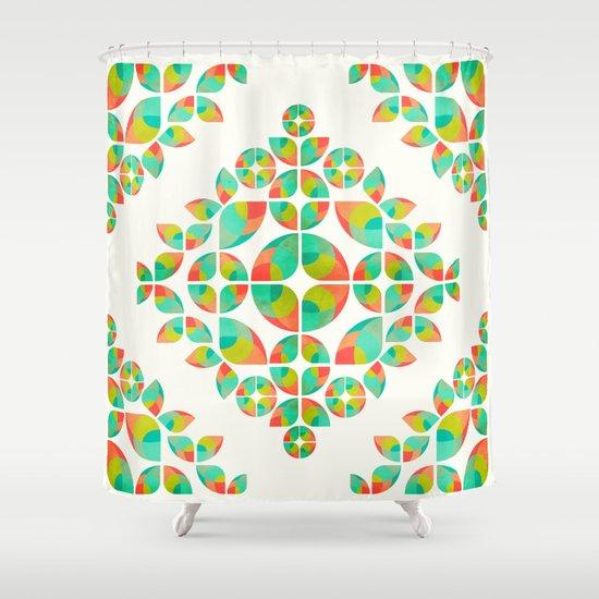 Fantasy Garden Pattern Shower Curtain