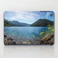Lake Crescent Olympic Mo… iPad Case