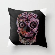 Rachel's Skull Throw Pillow