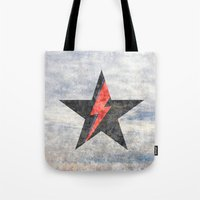 BlackStarMan (waiting In… Tote Bag