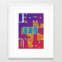 Contagion Framed Art Print