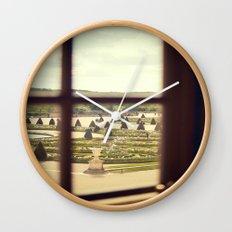 Windows of Versailles II Wall Clock