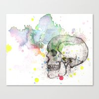 What's Underneath Canvas Print