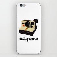 instagrammer iPhone & iPod Skin