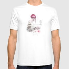 H is For Home Mens Fitted Tee SMALL White