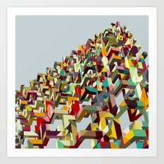 Geometric Babel Art Print