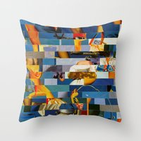Shiver Me Ikea Timbers (… Throw Pillow