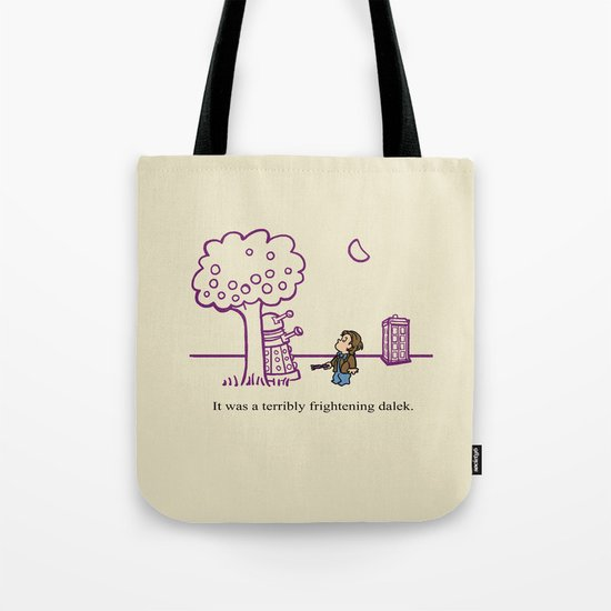 Dr Harold and the Purple Screwdriver Tote Bag