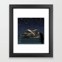 When we finish our work on earth... Framed Art Print