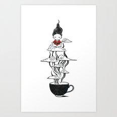 Zen Tea Art Print