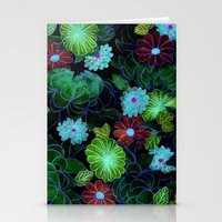 Oriental Blossom (night … Stationery Cards