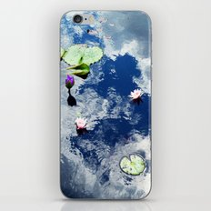 Water Lily Sky iPhone & iPod Skin