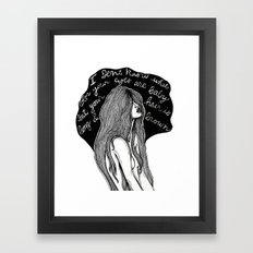 ALIVE Framed Art Print