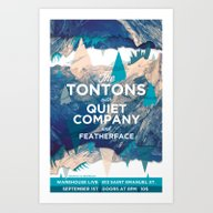 The Tontons & Quiet Comp… Art Print