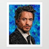 Hollywood - Robert Downe… Art Print