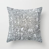 Whack Throw Pillow