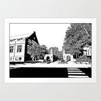 Bloomington III Art Print