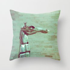 Urban Animal Throw Pillow