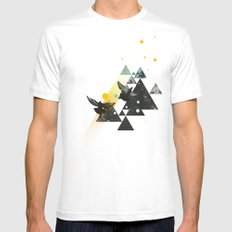 Existentialism Mens Fitted Tee White SMALL