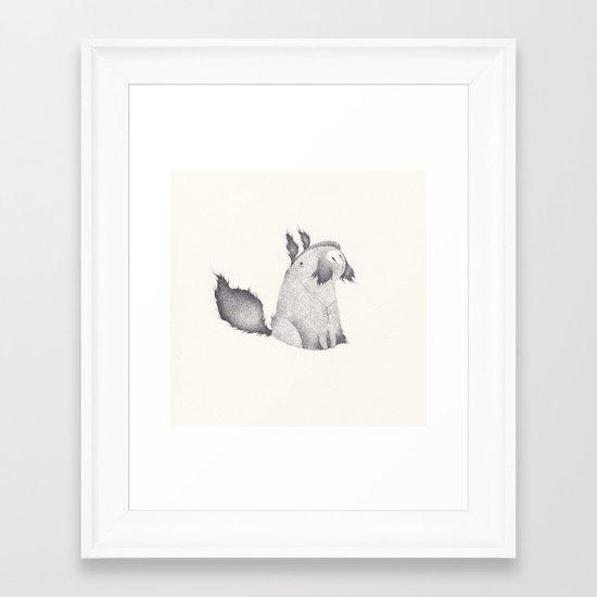 milou Framed Art Print