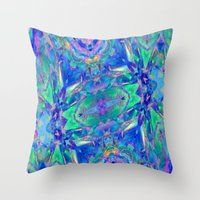 Altered Perceptions 5 Throw Pillow