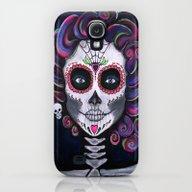 Sugar Skull Candy 2 Galaxy S4 Slim Case