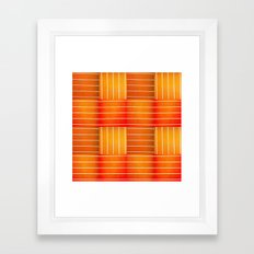 Orange crush Framed Art Print