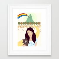The Wonderful Wizard Of Oz Framed Art Print