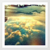Reflect 2 Art Print