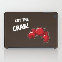 Cut the crab! iPad Case