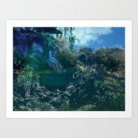 Environment Art Print