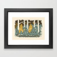 barrio Framed Art Print