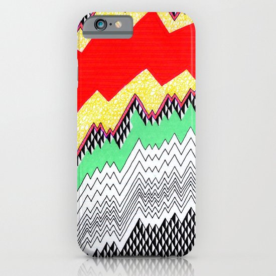 Isometric Harlequin #1 iPhone & iPod Case